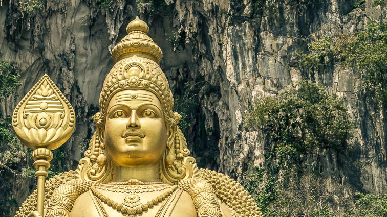 Batu Caves, Kuala Lumpur. Is Malaysia expensive?