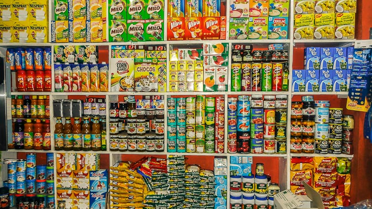 Store in Galle, Sri Lanka