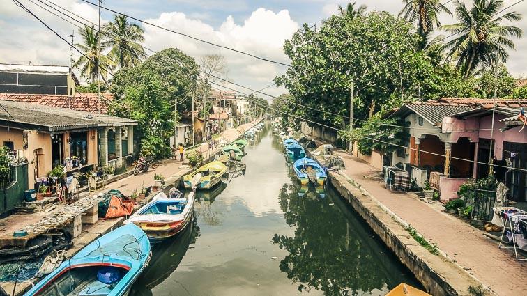 Negombo canals