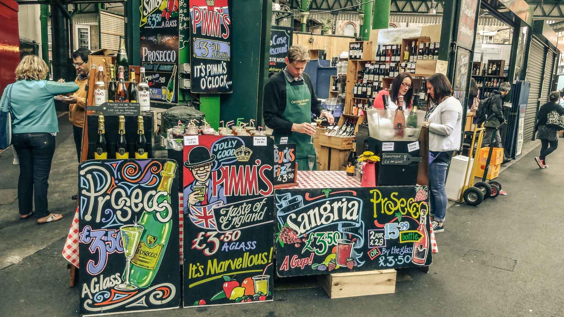 London Food Market June