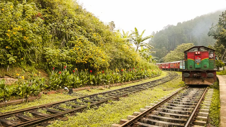 Train from Ella to Kandy
