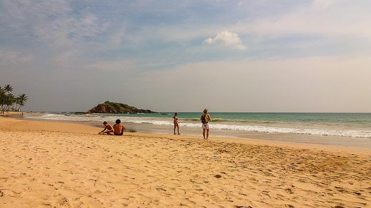 Things to do in Sri Lanka. Mirissa Beach