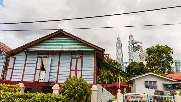 Authentic neighborhood Kampung Baru, Kuala Lumpur