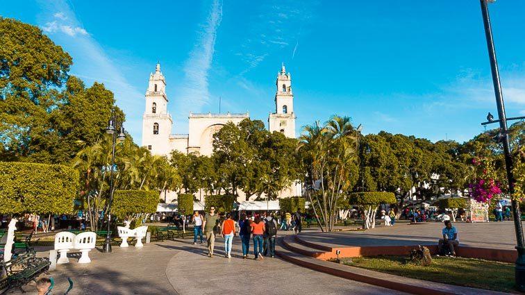 Mérida's main square