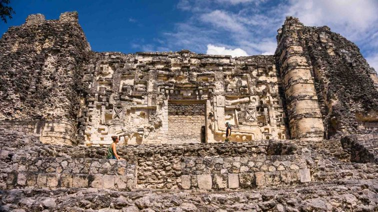 Mayan temple in Mexico