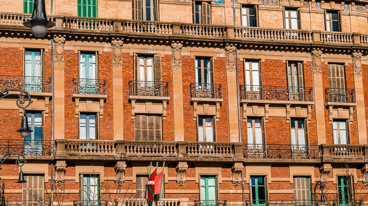 Beautiful architecture in Pamplona