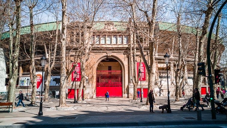 Plaza de Toros in Pamplona