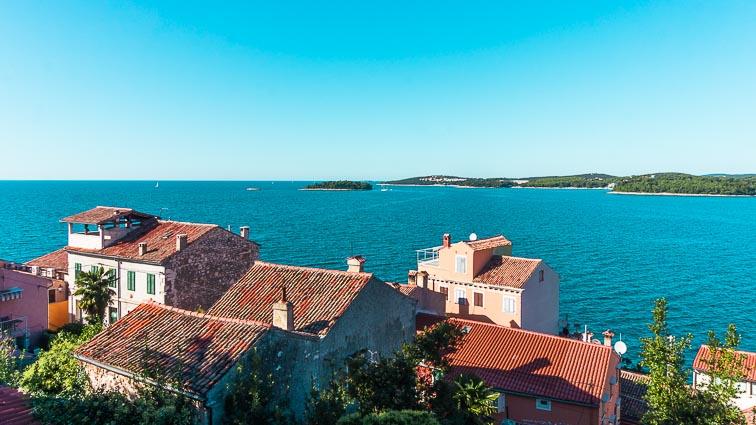 Krk Island from Croatia mainland: croatia road trip