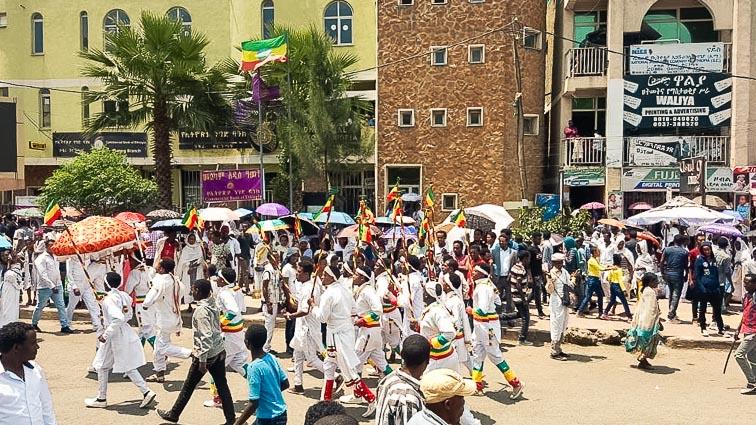 Timkat in Gondar