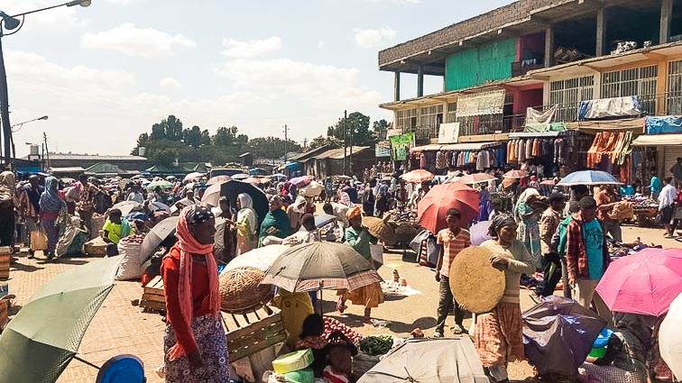 Market in Gondar