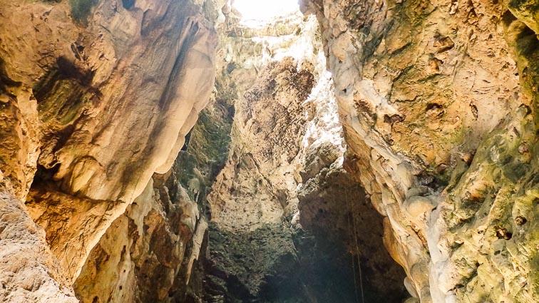 Bat cave, Battambang