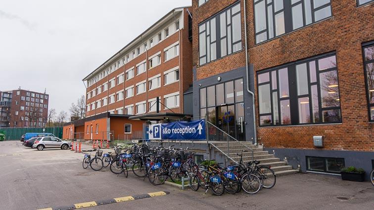 Front of A&O Hostels Nørrebro