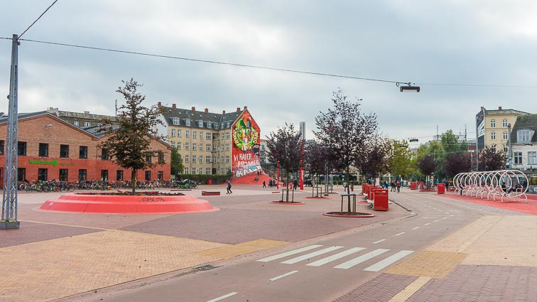 Superkilen Park in Nørrebro