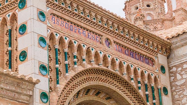 Closeup of Santa María de Media Villa