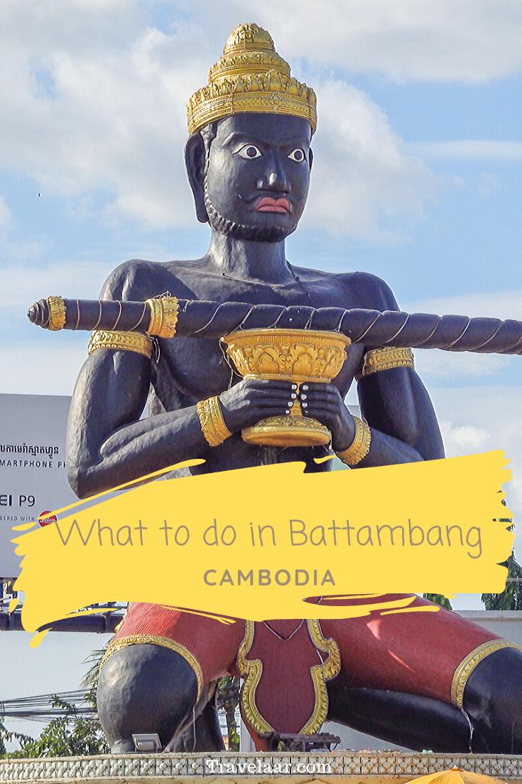 Statue in Battambang