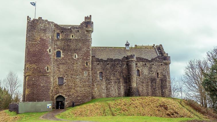 Doune Castle. Scotland Road Trip