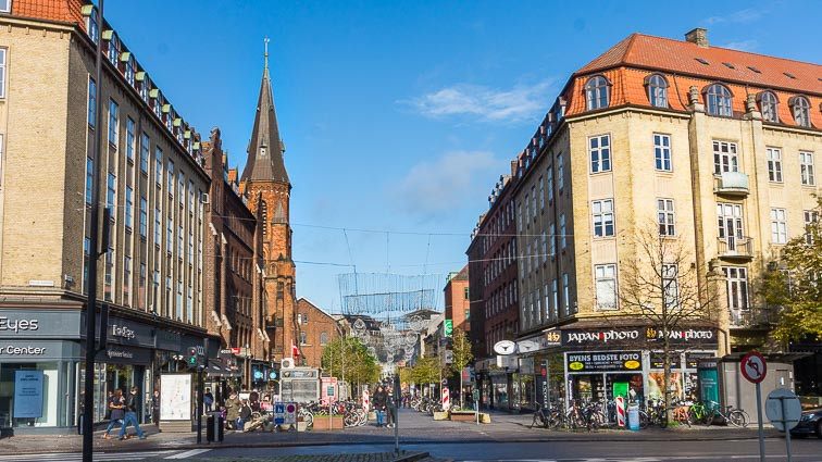 Second city in Denmark