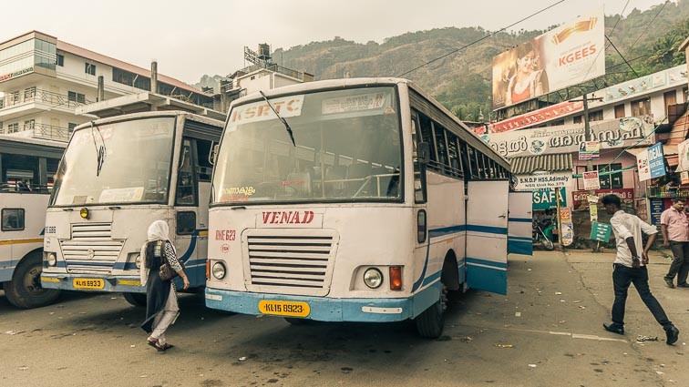 Busses in India