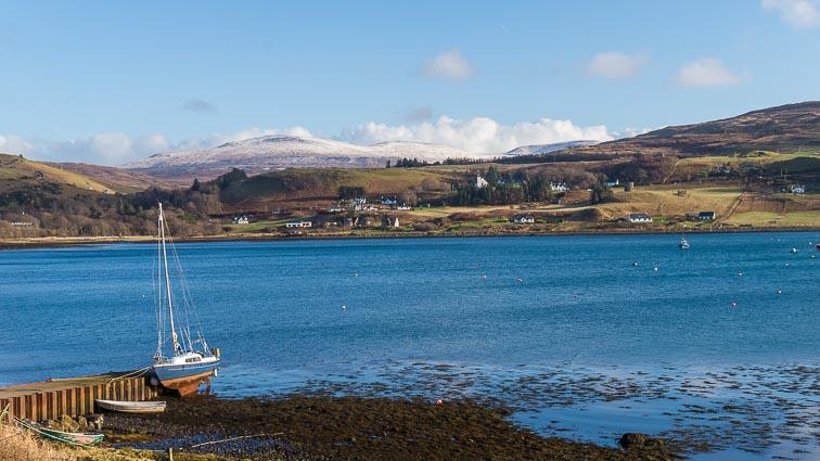 Uig on Skye Island