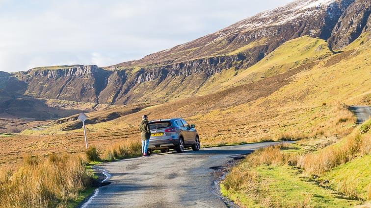 Renting a car in Scotland