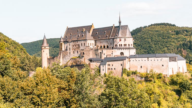 Luxembourg road trip: Vianden Castle